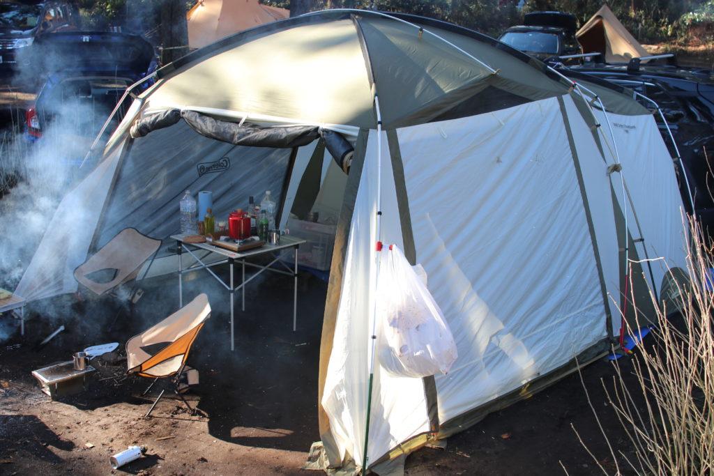 Coleman タフスクリーン2ルームハウス キャンプ