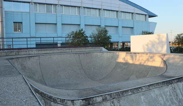 千葉県のスケートパーク 市原市「オリプリスケートコート」