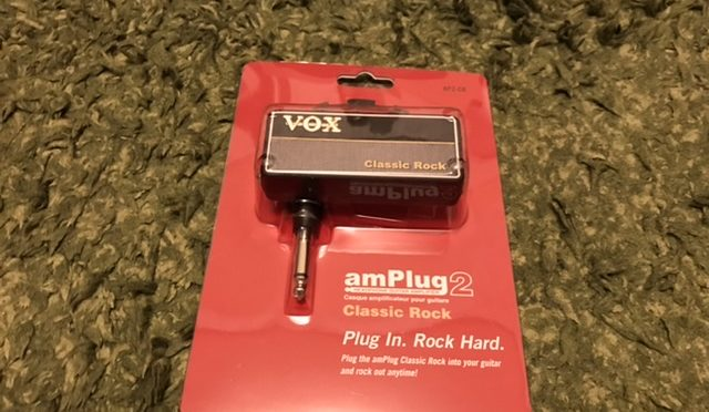 VOX am plug2     Classic Rock       レビュー