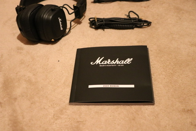 ヘッドフォン Marshall major3 Bluetooth