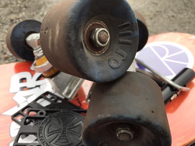 skateboard ウィール 選び方