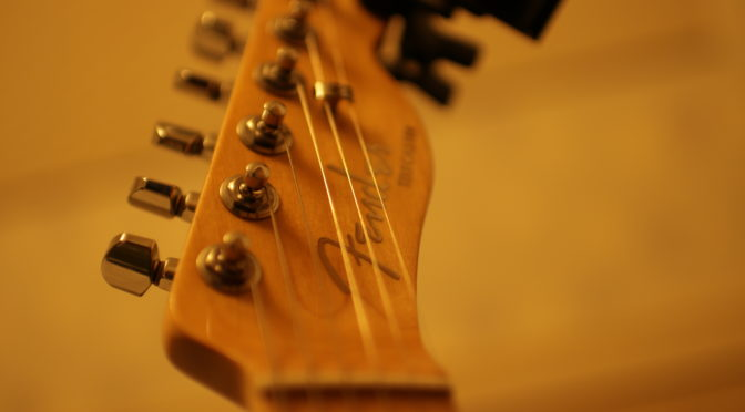 Fender   American Elite    Telecaster    人生2本目のギター  レビュー!!