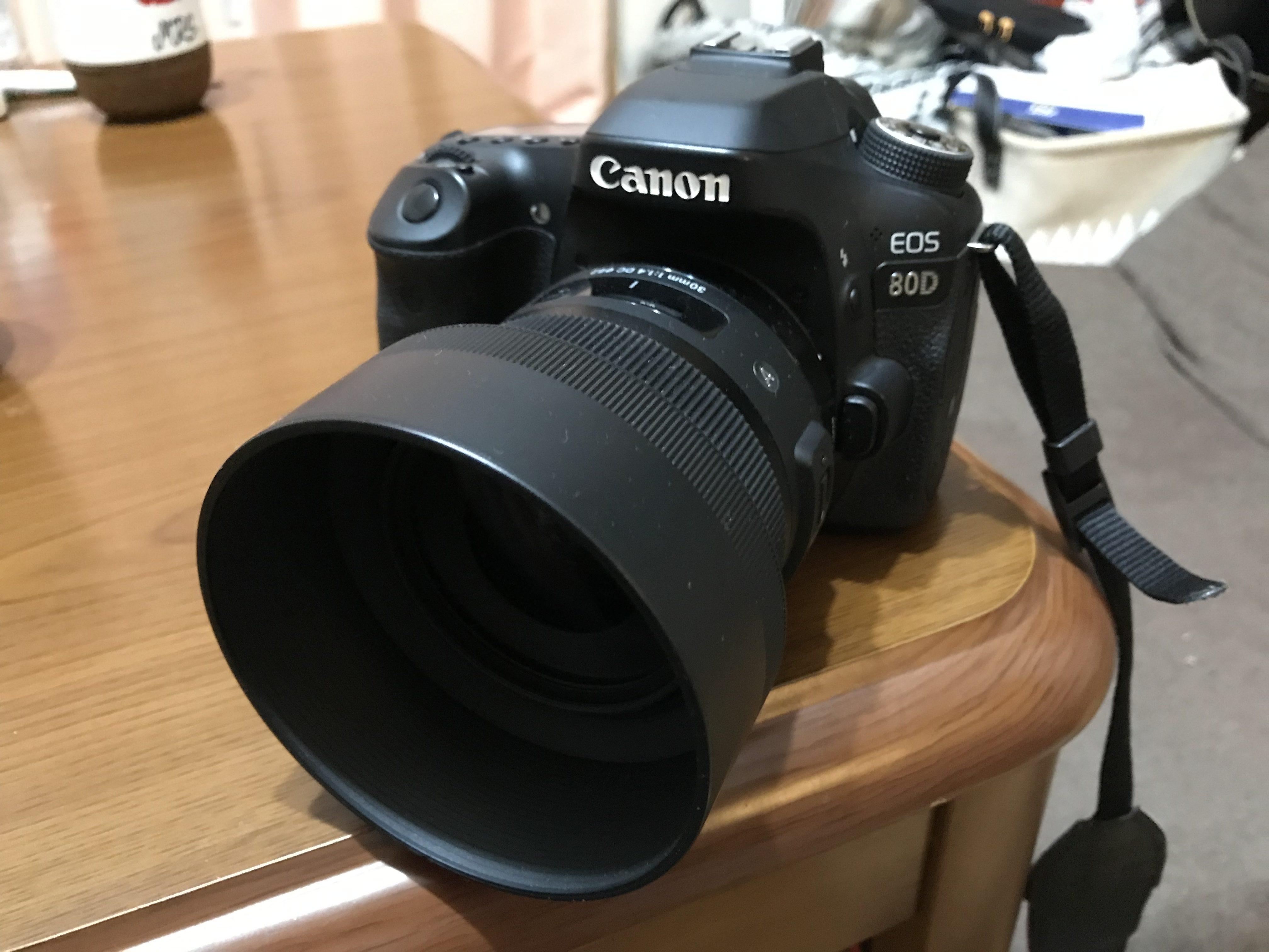 Canon EOS 80D スケートビデオ 機材
