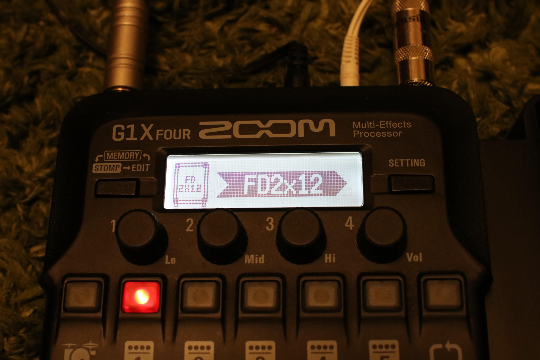 ZOOM G1X FOUR マルチエフェクター
