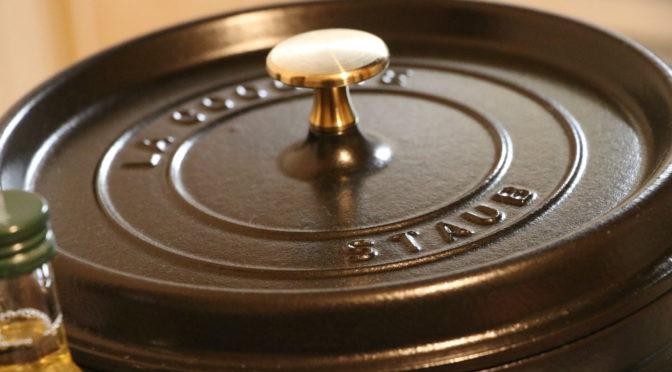 家庭料理もアウトドアもオシャレに楽しめる!! 鋳物の鍋!『STAUB』レビュー!(家庭編)【ローストビーフ作り】