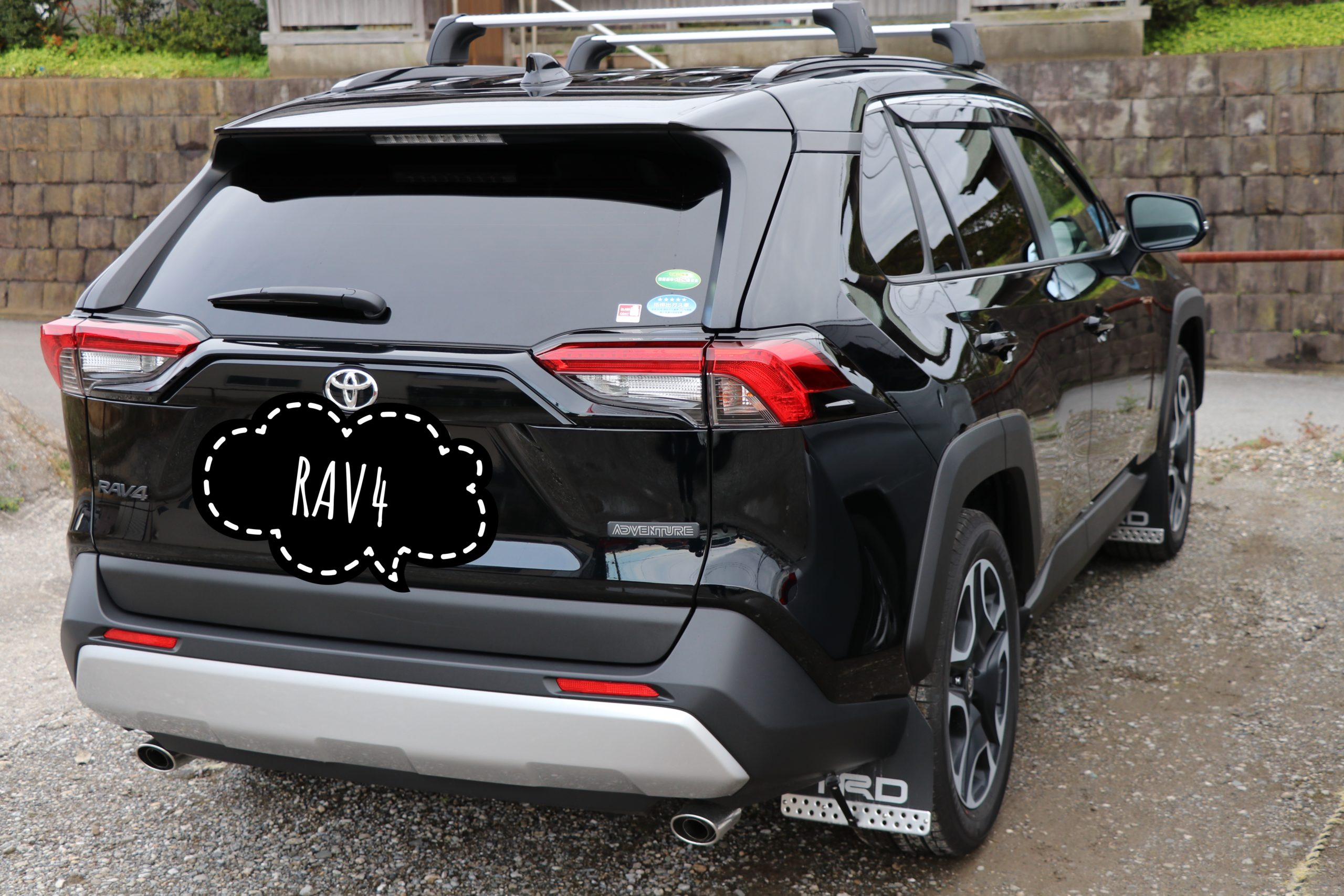 TOYOTA新型RAV4 adventure TRD