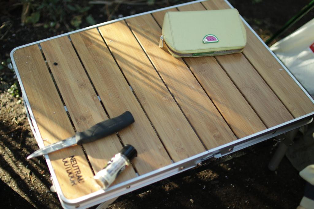 neutral outdoorバンブーテーブル M2