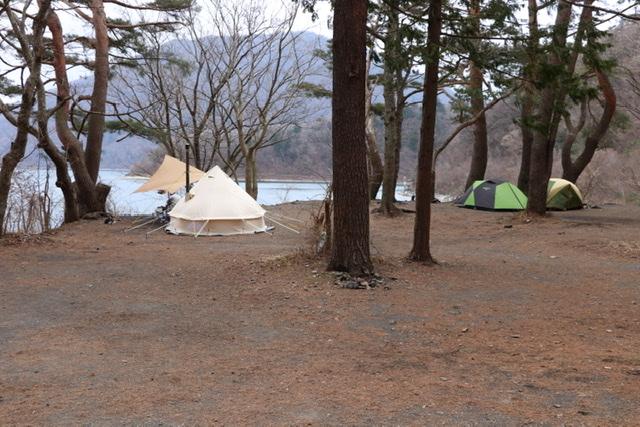 浩庵キャンプ場 キャンプ 林間サイト