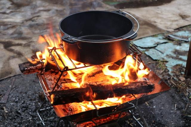 ニトリ ダッチオーブン シーズニング