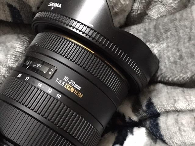 超広角レンズ「SIGMA」10-20mm F3.5 EX DC HSM