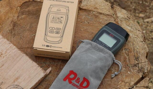薪の水分量を量るためにR&D「MT18」を導入&レビュー!!